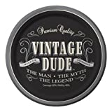 Creative Converting 8 Count Vintage Dude Round Dessert Plates