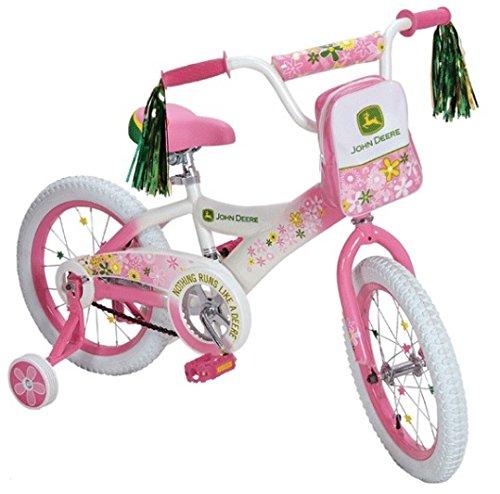 Buy Tomy John Deere Heavy Duty 16 Girl's Bicycle by Tomy