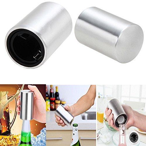 Automatico in acciaio inox, tappo apribottiglie birra soda Bicchiere di vino aperto strumento
