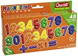Quercetti 5433  - MAG.Numbers 48 PCS [importado de Alemania]