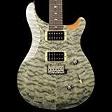 PRS SE Custom 24 Quilt Top Ltd Edition - Trampas Green with Gigbag