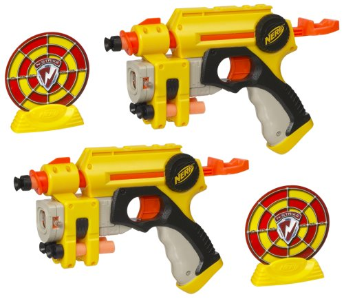 2 Pack N Strike EX 3 Nite Finder Nerf Pistol