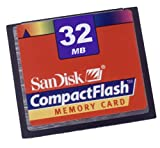 SanDisk 32 MB CompactFlash Card
