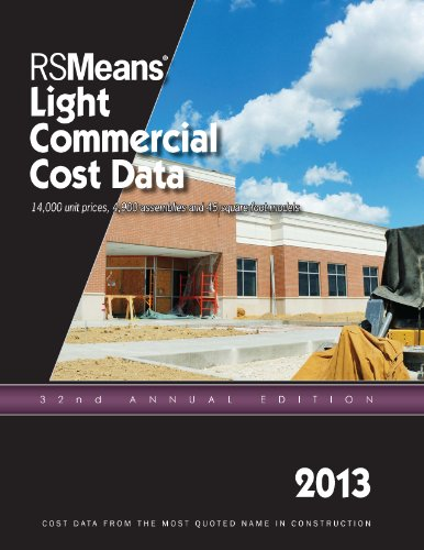 RSMeans Light Commercial Cost Data 2013 - RS Means - RS-Light - ISBN: 1936335670 - ISBN-13: 9781936335671
