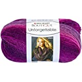 Red Heart E793.3950 Boutique Unforgettable Yarn, Petunia