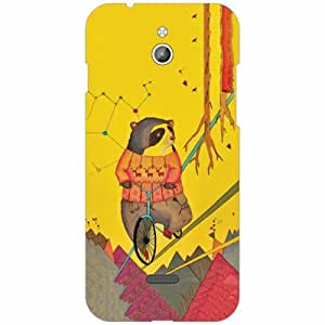 Infocus M2 Back Cover - Silicon lady Designer Cases