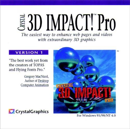 Crystal 3D IMPACT! Pro 1.25 (Jewel Case)