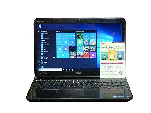 DELL ノートパソコン Windows10 中古パソコン ノート 本体 Kingsoft Office付き Core i7 DVD 8GB/640GB INSPIRON N5110 ブラック テンキー