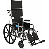 Medline Excel Reclining Wheelchairs, 18 Inch