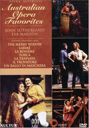 Cover art for  Australian Opera Favorites / Joan Sutherland, Eva Marton, Richard Bonynge