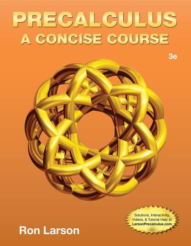 Precalculus A Concise Course113396253X