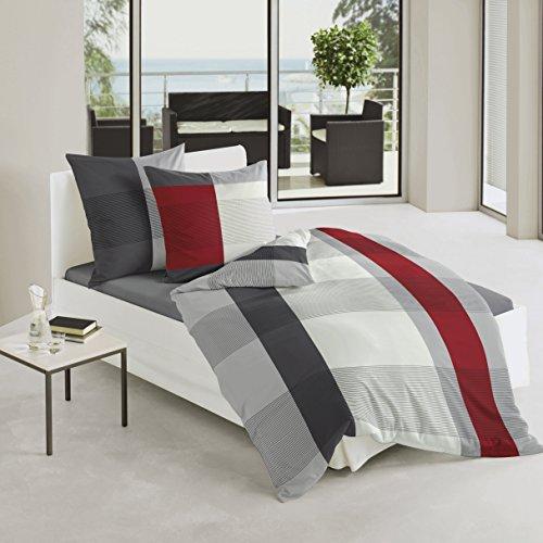 Bierbaum set biancheria da letto in raso di cotone mako - Amazon biancheria letto ...