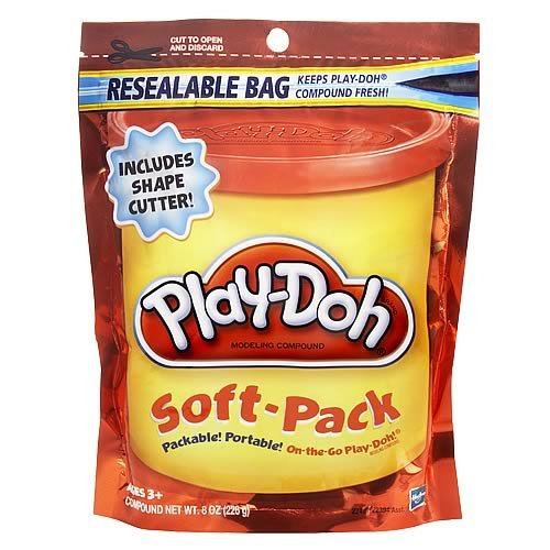 Play-Doh Soft- Pack - Orange