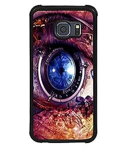 printtech Technical Eye Back Case Cover for Samsung Galaxy S6 Edge::Samsung Galaxy Edge G925