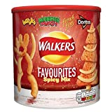 Walkers Favorites Tub Spicy Mix 120G