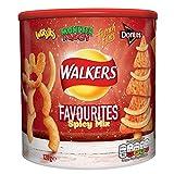 Walkers Favorites Tub Spicy Mix 120G
