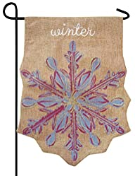 Evergreen Snowflake Winter Embellishe…