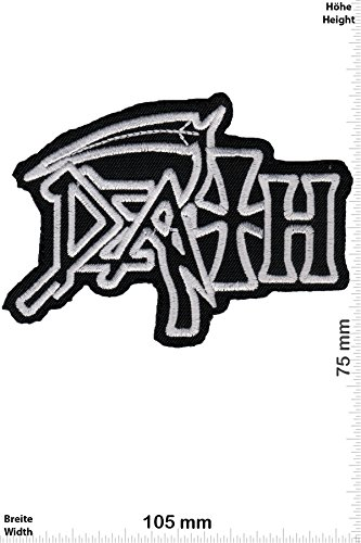 Patch - Death - Death-Metal-Band - Musicpatch - Rock - Vest - Chaleco - toppa - applicazione - Ricamato termo-adesivo - Give Away