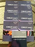 img - for Kaplan Medical COMLEX Level 1 Lecture Notes (2011 Edition) Set of 8 Books (Anatomy, Biochemistry and Medical Genetics, Immunology and Microbiology, Omm, Pathology, Pharmacology, Physiology, Behavioral Science) book / textbook / text book