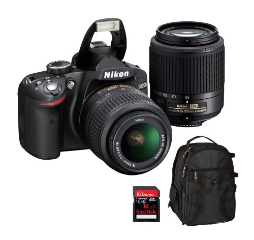 Nikon D3200 24.2 MP CMOS Digital SLR  18-55mm