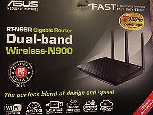 ASUS RT-N66R Dual-Band Wireless-N900 Gigabit Router IEEE 802.11a/b/g/n, IEEE 802.3/3u/3ab