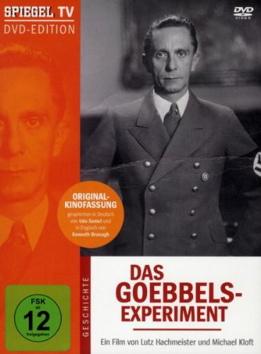 Spiegel TV - Das Goebbels-Experiment [1 DVD]