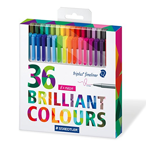 staedtler-triplus-fineliner-334-superfine-point-pens-03-mm-assorted-colours-pack-of-36