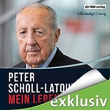 Mein Leben (       ungekürzt) von Peter Scholl-Latour Gesprochen von: Peter Weis