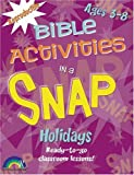 Bible Activities in a Snap: Holidays