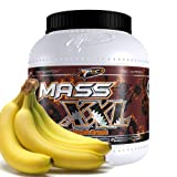 MASS XXL WEIGHT GAINER x 2000g (Banana) BEST COMPLEX PROTEIN WHEY POWDER SHAKE DRINK