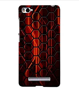 ColourCraft Printed Design Back Case Cover for XIAOMI MI 4I