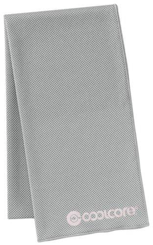 Cool core towel grey