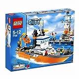 レゴ シティ パトロールボートとタワー  7739
