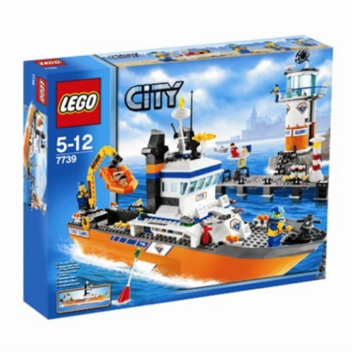 LEGO City 7739 Coast Guard Patrol Boat  &  Tower