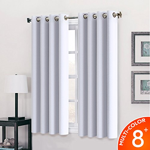63 inch white curtains