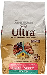 NUTRO ULTRA Small Breed Senior Dry Dog Food, 8 Pound