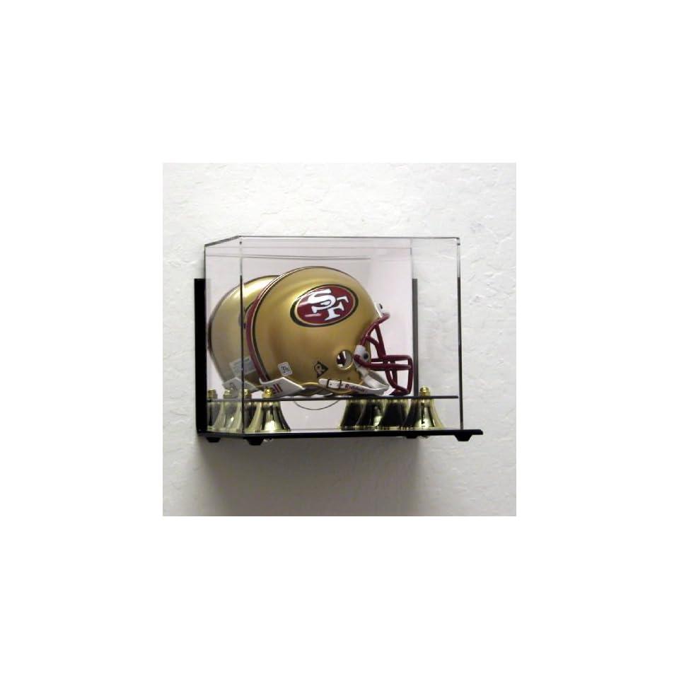 Wall Mount Acrylic Mini Helmet Display Case