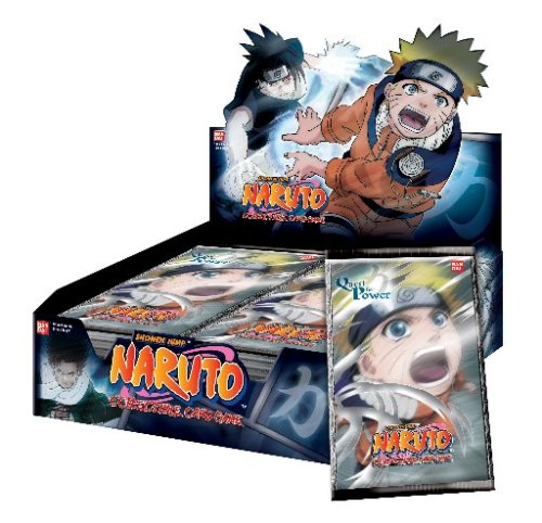 Naruto Collectible Trading Card Game Quest for Power 1st Edition Booster Pack - 1