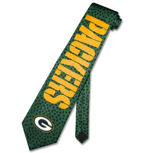 GREEN BAY PACKERS LOGO Texture NeckTie NFL Neck Tie NEW