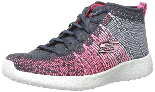 Skechers Sport Women's Sweet Symphony Fashion Sneaker, Pink/Multi/Gray, 10 M US