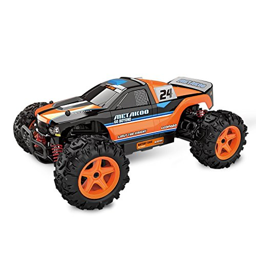 Metakoo Leopard Electric Fast 4WD Off Road High Speed 40km/h Remote Control 1:24 Scale 40mins Playing Times 2.4GHz RC Buggy Hobby Car (Gas Rc Cars Hobby compare prices)