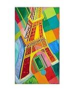 Legendarte Lienzo La Torre Eiffel di Robert Delaunay