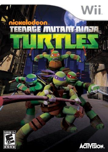 Teenage Mutant Ninja Turtles - Nintendo Wii
