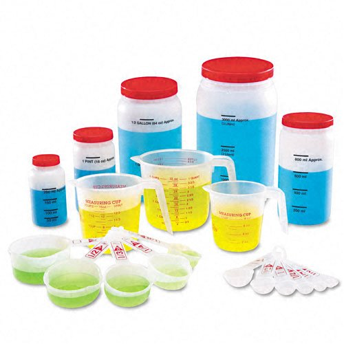 Learning Resources Products - Learning Resources - Classroom Measuring Set, Measuring Tools, Ages 6 To 13 - Sold As 1 Set - Everything you need to teach liquid measurements and equivalencies in metric and customary units. - Durable plastic measuring cups