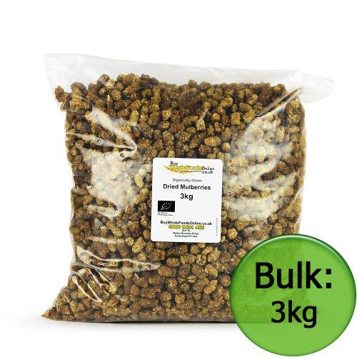 Organic Dried Mulberries 3kg