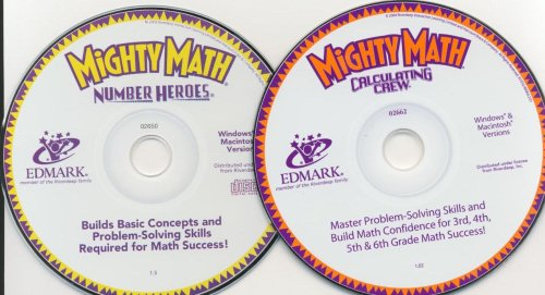Mighty Math Number Heroes and Calculating Crew Computer Game