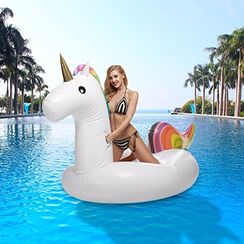 Inflatable-Unicorn-Pool-Float-275M-Giant-Swan-Inflatable-Swimming-Pool-Toys
