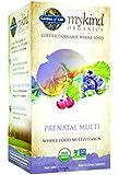 Garden of Life mykind Organics Prenatal Multi, 180 Organic Tablet
