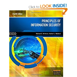 Principles of Information Security - Michael E. Whitman