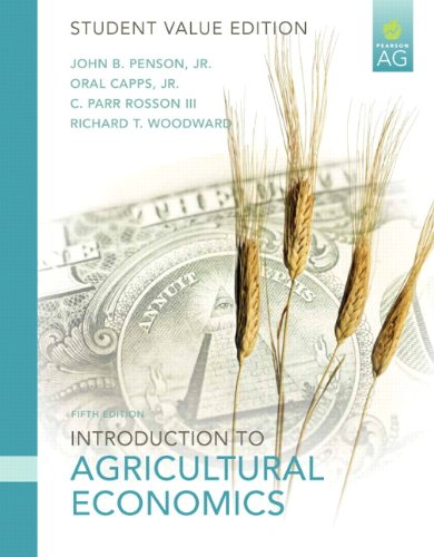 Introduction to Agricultural Economics, Student Value...